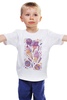 "Детская футболка ""Sweet Paradise"" - конфеты, рай, мороженое, sweets, леденцы"
