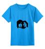 """Детская футболка классическая унисекс """"The Rolling Stones"""" - рок-н-ролл, the rolling stones"""