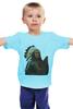 """Детская футболка классическая унисекс """"Native American"""" - индеец, вождь, native american, chief"""
