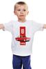"""Детская футболка классическая унисекс """"Retro Ride"""" - ретро, автомобиль, ваз, lada"""