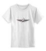 """Детская футболка классическая унисекс """"Серп и молот. Супергерой"""" - серп и молот"""