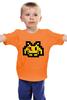 """Детская футболка классическая унисекс """"Космический Захватчик """" - хранители, pixel art, watchmen, space invader"""