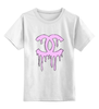 """Детская футболка классическая унисекс """"chanel"""" - мода, fashion"""