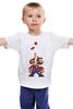 "Детская футболка классическая унисекс ""Марио (Тетрис)"" - mario, марио, tetris, тетрис"