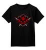"""Детская футболка классическая унисекс """"House Targaryen"""" - дракон, огонь, игра престолов, game of thrones, кхалиси"""
