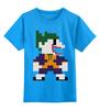"""Детская футболка классическая унисекс """"Джокер (8-бит)"""" - joker, batman, джокер, бэтмен, бетмен"""