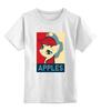 """Детская футболка классическая унисекс """"Пони APPLES"""" - pony, mlp"""