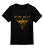"""Детская футболка классическая унисекс """"Bon Jovi"""" - bon jovi"""