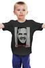 "Детская футболка ""HERE'S JOHNNY"" - ужасы, сияние, the shining, джек николсон, jack nicholson"