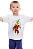 "Детская футболка ""The Flash (Молния)"" - flash, молния, dc, флэш"