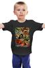 """Детская футболка классическая унисекс """"Retro Horror"""" - ретро, кино, movie, ужасы, плакаты, poster, постеры"""