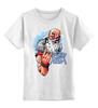 """Детская футболка классическая унисекс """" 2015 – Год Козы"""" - happy new year, новый год, winter, зима, дом, семья, снег, 2014, барашек, баран"""