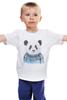 """Детская футболка """"Панда"""" - панда, panda, свитер"""