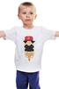 """Детская футболка классическая унисекс """"Grand Master Bit """" - rap, pug, рэп, собака, swag, вектор, хип-хоп, цепи, мопс"""