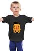 """Детская футболка классическая унисекс """"Борода V"""" - борода, усы, beard, mustache"""