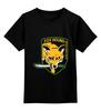 """Детская футболка классическая унисекс """"Fox Hound"""" - игры, metal gear, fox hound"""