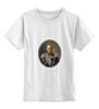 """Детская футболка классическая унисекс """"Путин царь"""" - россия"""
