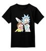 """Детская футболка классическая унисекс """"Rick and Morty"""" - cartoon, rick and morty, adult swim, рик и морти, купание для взрослых"""