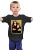 """Детская футболка классическая унисекс """"Джон Леннон и Йоко Оно"""" - битлы, битлз, john lennon, йоко оно, джон леннон"""