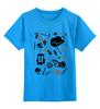 """Детская футболка классическая унисекс """"Артефакты из The Walking Dead"""" - ходячие мертвецы, the walking dead"""