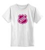 """Детская футболка классическая унисекс """"National Hockey League"""" - хоккей, nhl, нхл"""