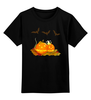 """Детская футболка классическая унисекс """"""""HALLOWEEN"""""""" - праздник, хэллоуин, октябрь, тыквы"""