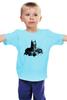 """Детская футболка классическая унисекс """"Бэтмен"""" - комиксы, batman, бэтмен, супергерой, dc comics, летучая мышь"""