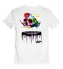 """Детская футболка классическая унисекс """"Череп Дали"""" - skull, сальвадор дали, сюрреализм, salvador dali, усы дали"""