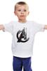 """Детская футболка классическая унисекс """"Мстители / Avengers"""" - мстители, avengers, тор, thor, kinoart"""