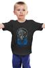 """Детская футболка классическая унисекс """"Саб-Зиро (Мортал Комбат)"""" - смертельная битва, мортал комбат, мк, саб-зиро, фаталити"""