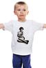 """Детская футболка """"Мужская моника беллуччи"""" - monica bellucci, моника беллучи"""