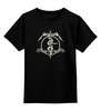 """Детская футболка классическая унисекс """"Metallica"""" - heavy metal, metallica, металлика, хэви метал, thrash metal"""