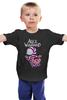 """Детская футболка """"Alice in Wonderland"""" - кот, cat, алиса, алиса в стране чудес, alice in wonderland"""