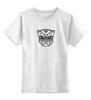 """Детская футболка классическая унисекс """"Трансформер"""" - трансформеры"""