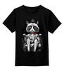 """Детская футболка классическая унисекс """"Угрюмый Лорд"""" - кот, grumpy cat, угрюмый кот"""