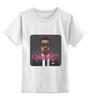 "Детская футболка классическая унисекс ""Kanye West"" - kanye west, рэпер, rapper, кени вест, канье уэст, канье уест"