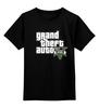 """Детская футболка классическая унисекс """"Grand theft auto"""" - игры, grand theft auto, gta, гта, gta v"""