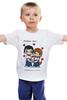 "Детская футболка ""love is...3"" - любовь, love is"