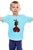 """Детская футболка """"Love Noose"""" - сердце, любовь, heart, петля, noose"""