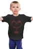 """Детская футболка классическая унисекс """"muse"""" - heart, rock, muse"""