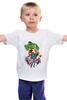 """Детская футболка классическая унисекс """"Мстители (The Avengers)"""" - hulk, мстители, iron man, captain america, thor"""