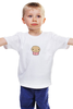 """Детская футболка классическая унисекс """"Милый маффин"""" - мило, вкусно, muffin, маффин"""