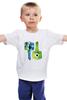 """Детская футболка классическая унисекс """"Университет монстров"""" - мультфильм, университет монстров, майк, monsters inc, салли, monsters university"""