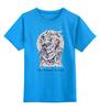 """Детская футболка классическая унисекс """"Околдована смертью (It's bewitched by death)"""" - skull, любовь, death"""