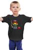 """Детская футболка """"Миньон Дредд"""" - миньоны, ангри бердс, гадкий я, minion, судья дредд"""