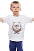 """Детская футболка классическая унисекс """"рыжий кот"""" - кот, cat, рыжий, red cat"""