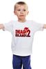 """Детская футболка классическая унисекс """"Dead Island 2"""" - zombie, зомби, кровь, ужасы, dead island 2"""