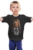"""Детская футболка """"Мистер Лев"""" - king, хищник, лев, lion, animal, царь зверей"""