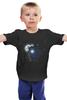"""Детская футболка """"Сова и Тардис"""" - сова, doctor who, owl, доктор кто, тардис"""