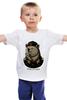 """Детская футболка """"made in USSR"""" - bear, ссср, медведь, россия, russia, патриотические футболки, арт медведь, russian bear, made in ussr"""